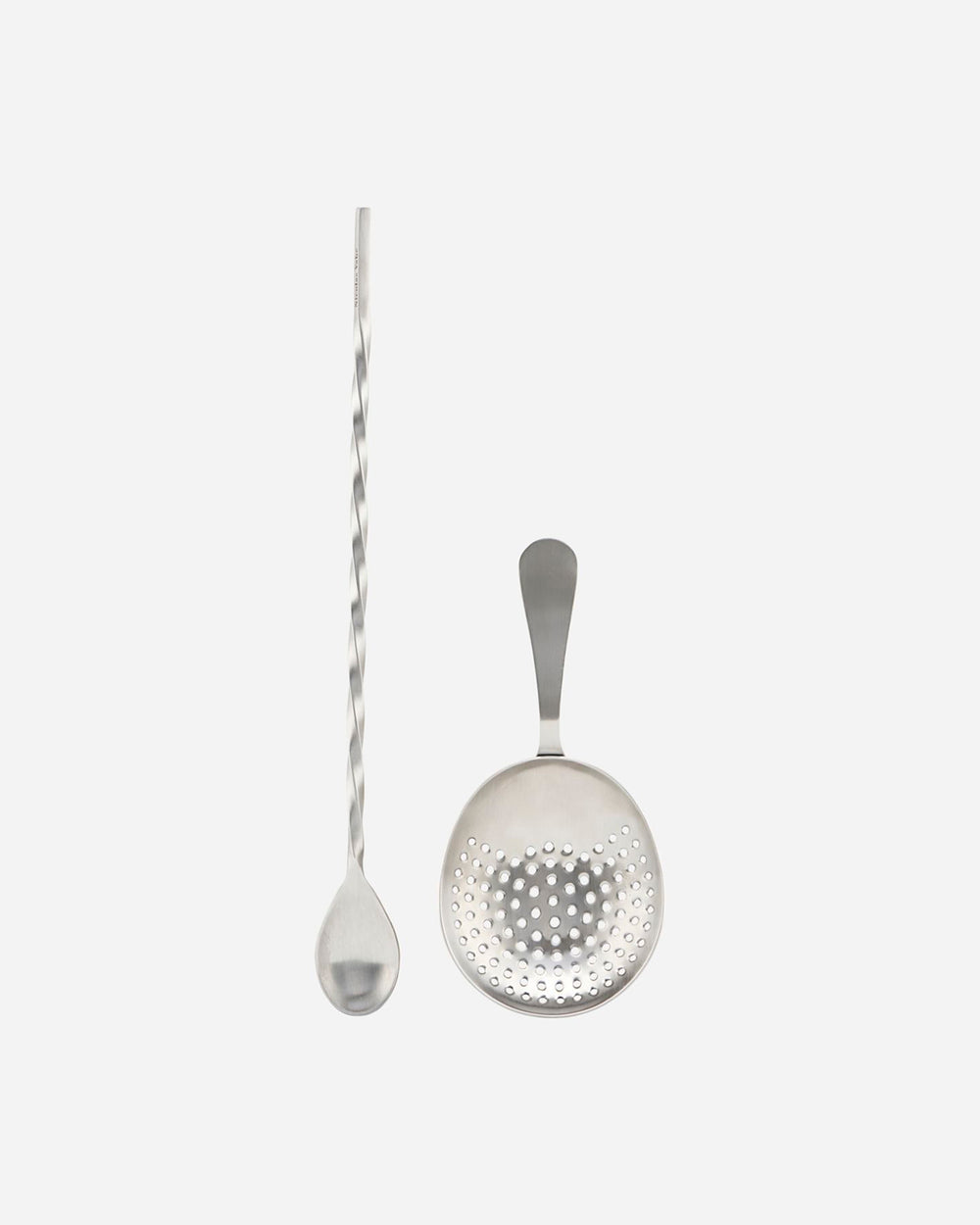 COCKTAIL SPOON AND STRAINER