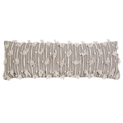 "POM POM NORA HANDWOVEN 14"" X 40"" WITH INSERT"