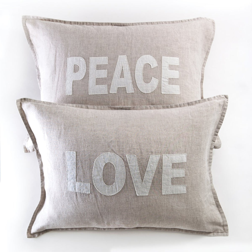 POM POM LOVE & PEACE PILLOWS