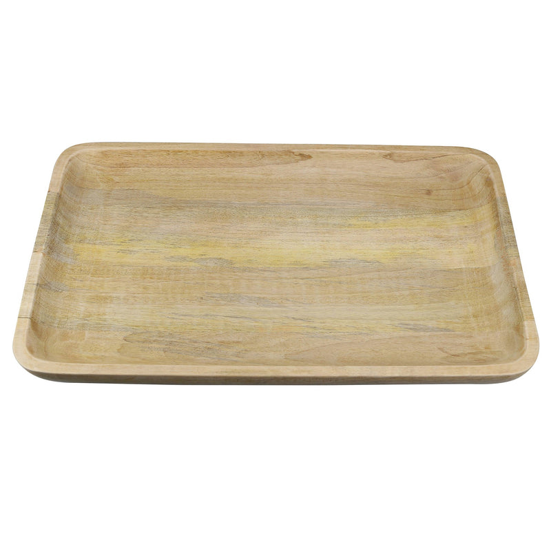 MANGO WOOD EXTRA LARGE RECTANGULAR TRAY