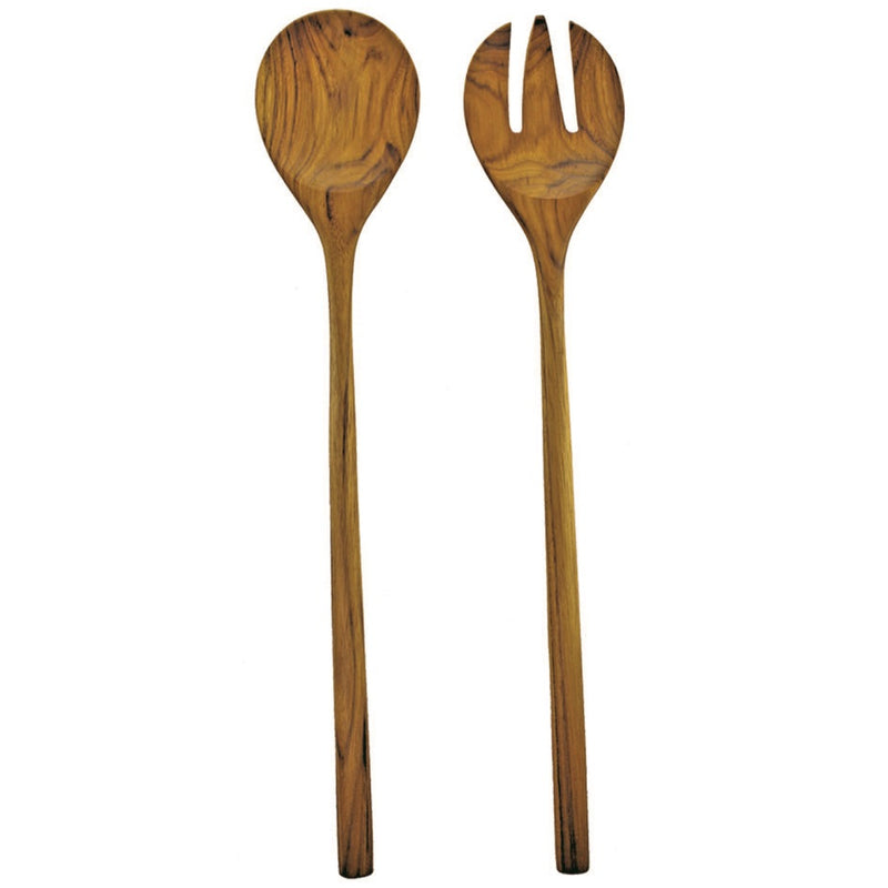EXTRA LARGE TEAK SERVING SET