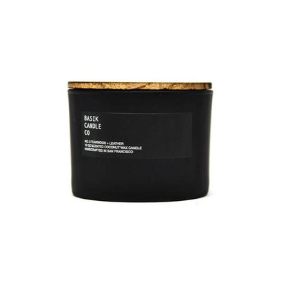 NO. 3 TEAKWOOD + LEATHER CANDLE 13 OZ