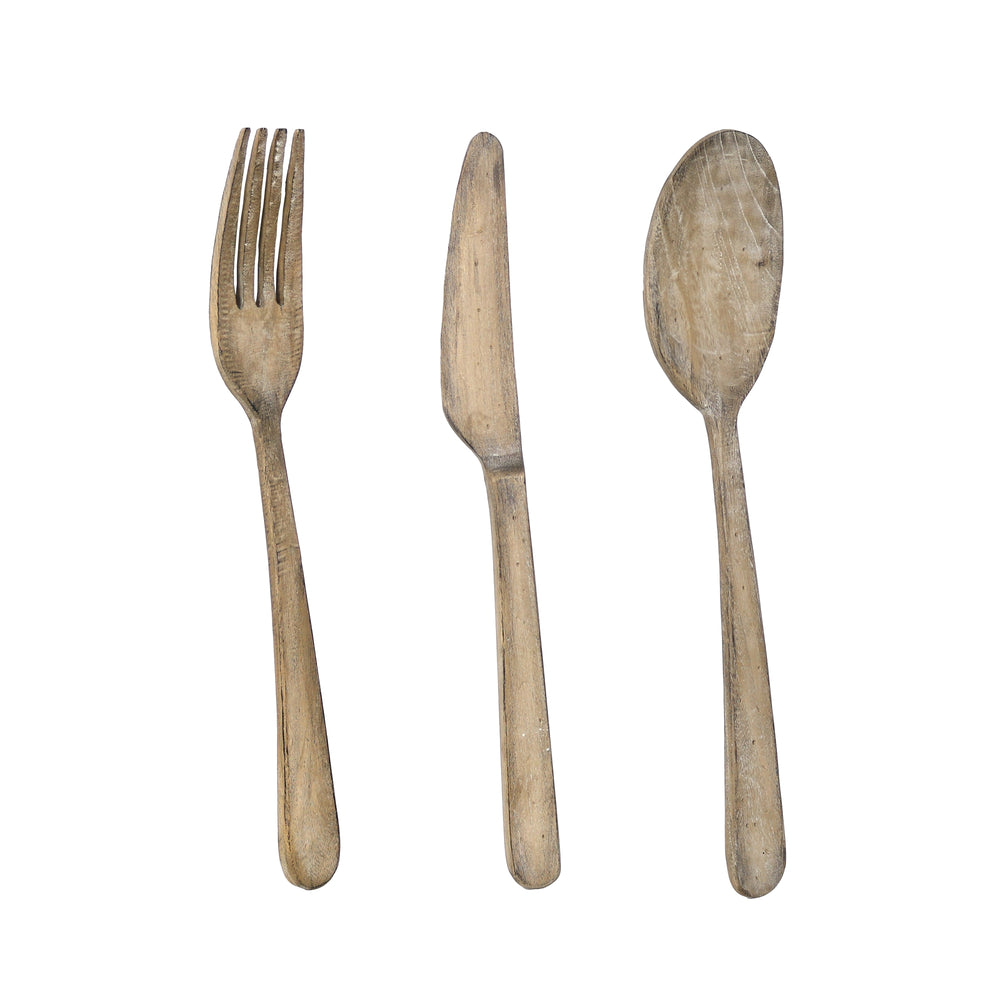 FORK, KNIFE, & SPOON SET