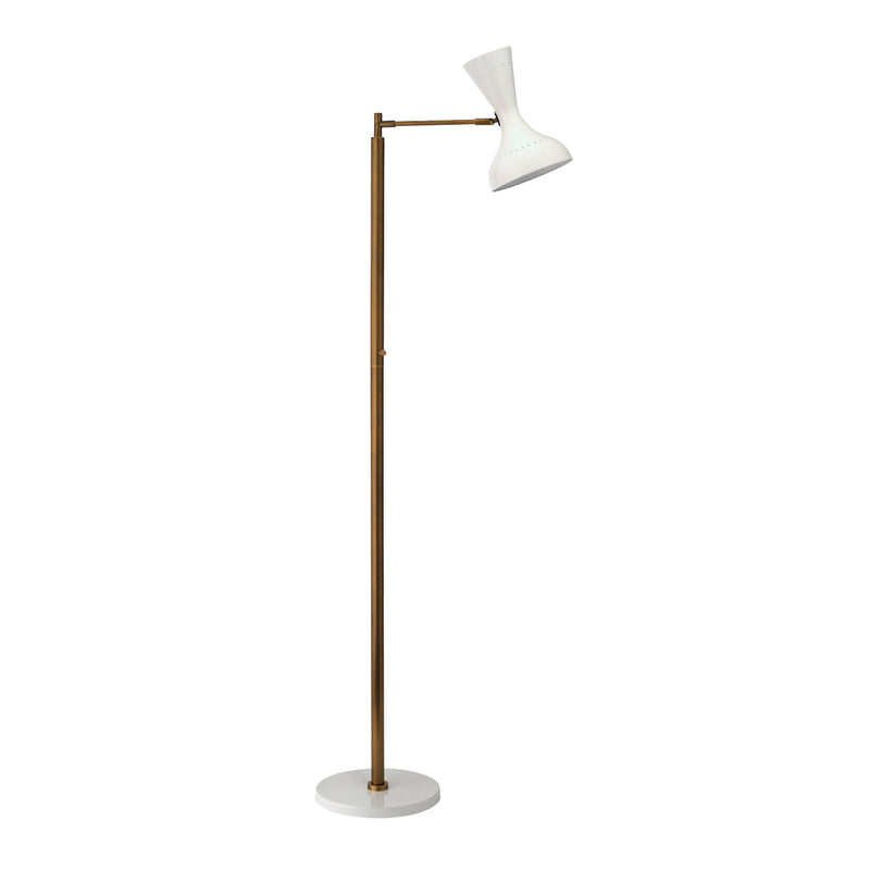 SWING FLOOR LAMP WHITE