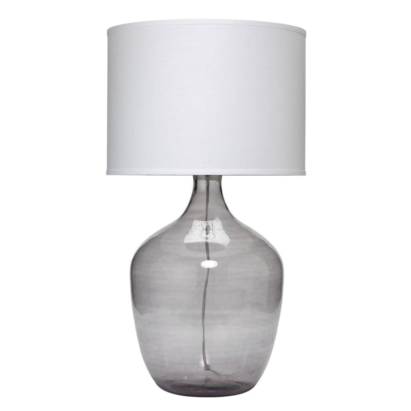 EXTRA LARGE PLUM JAR TABLE LAMP