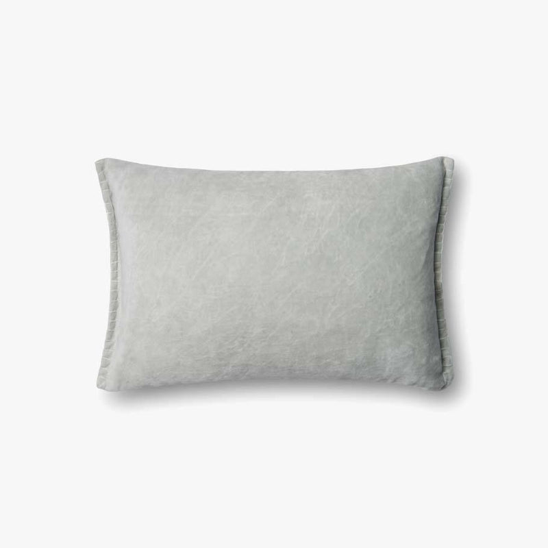 SEAFOAM VELVET PILLOW