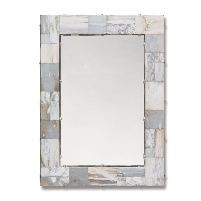 PETRIFIED WOOD MIRROR