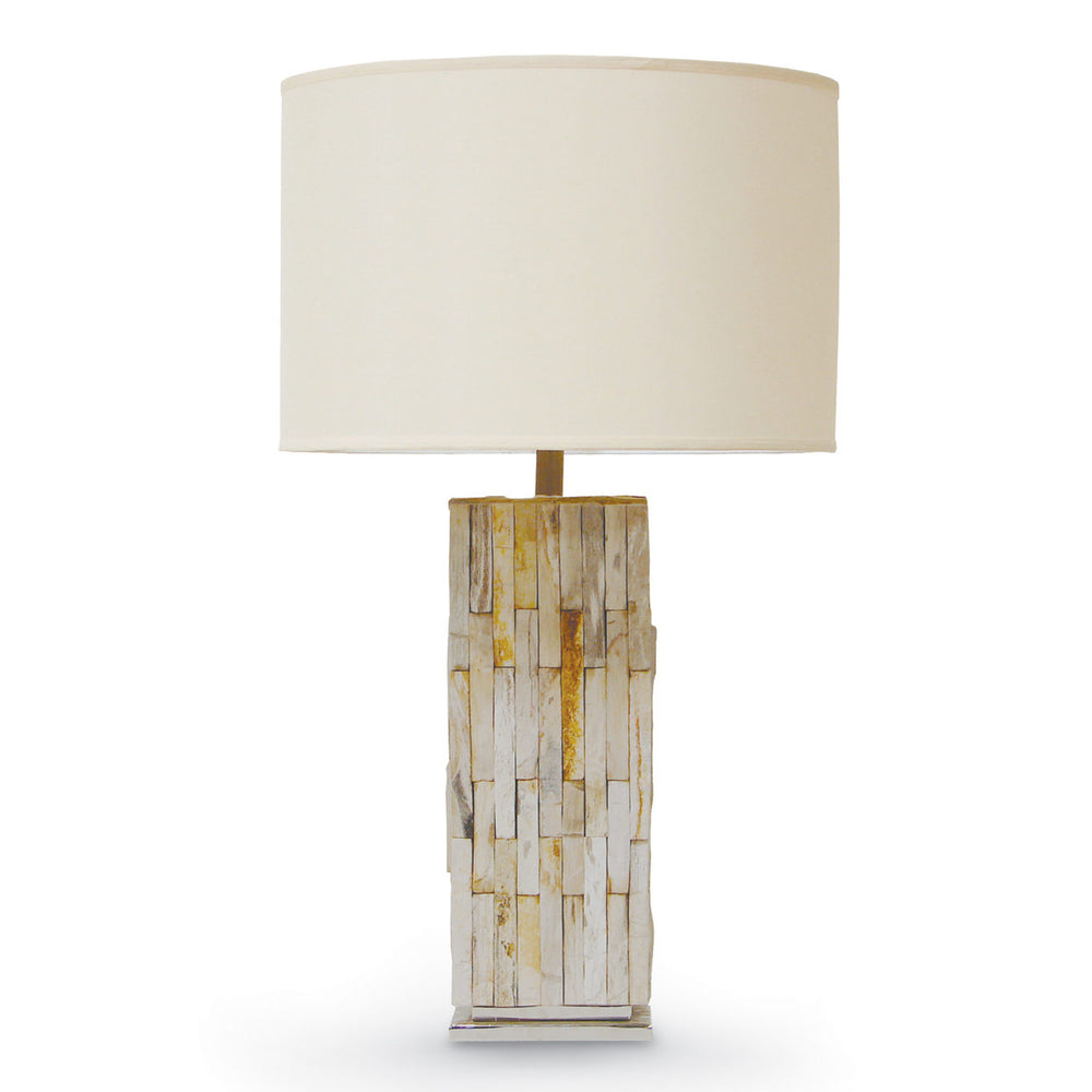 NATURAL PETRIFIED WOOD LAMP
