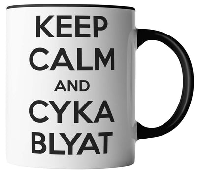 Keep Calm and Cyka Blyat - Russland Russia