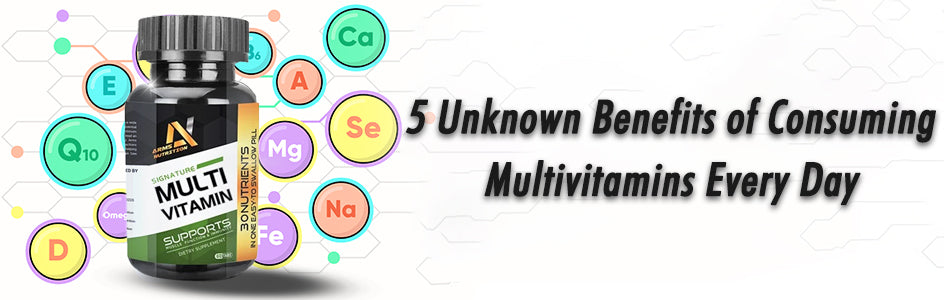 5 Unknown Benefits of Consuming Multivitamins Every Day