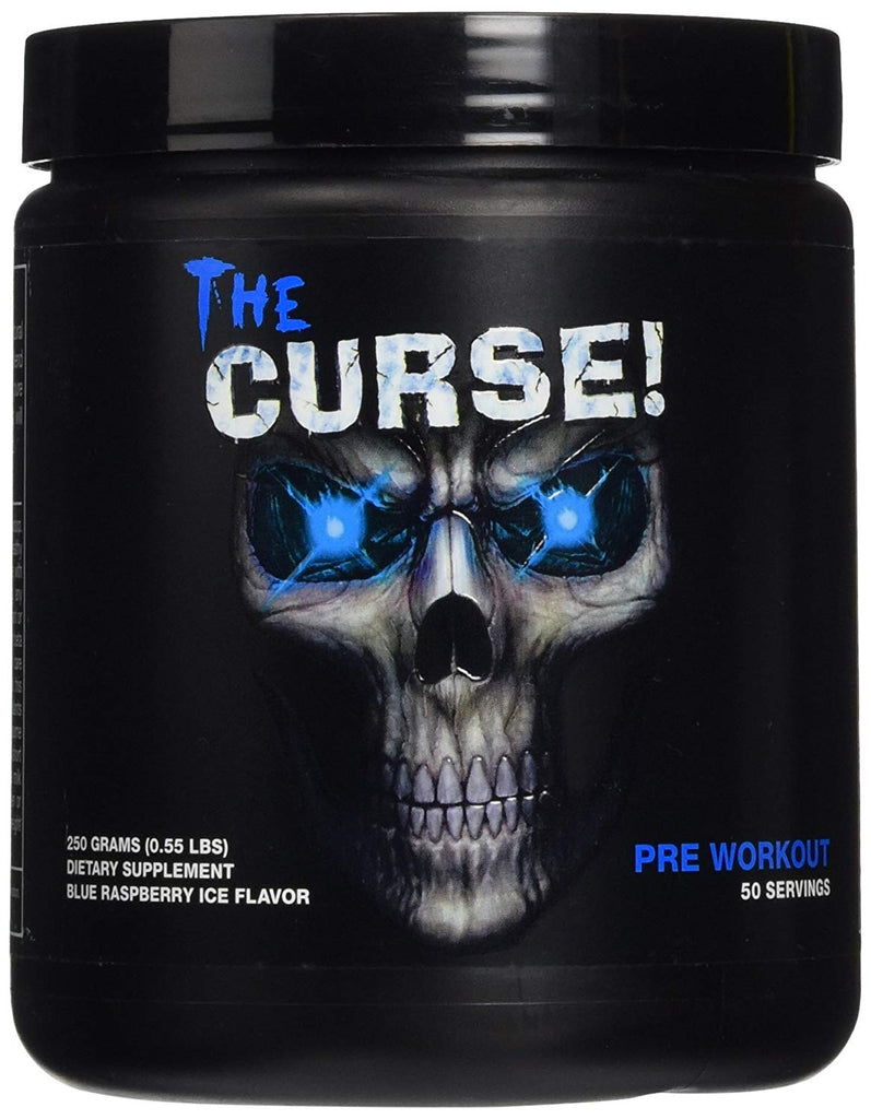 Cobra Labs The Curse Advanced Pre Workout Supplement - 250 g (Blue Raspberry)