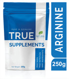 True Supplements Pure Arginine for Muscle Mass & Athletic Endurance  83 Servings | 250g