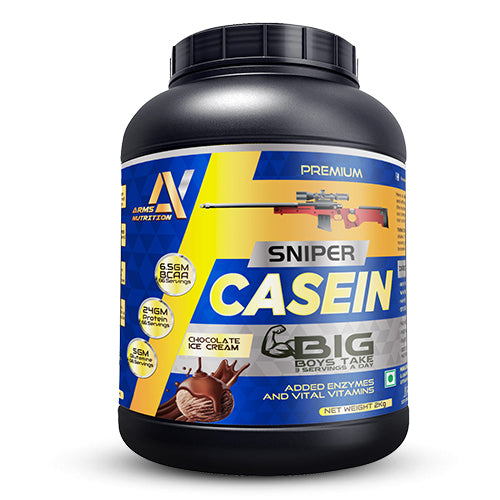 Arms Nutrition Micellar Casein Protein Slow Absorption & Muscle Build