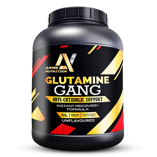 Arms Nutrition Glutamine Gang for Rapid Muscle Recovery & Gains