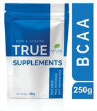 True Supplements Pure BCAA | Pre & Post Workout Supplement for Recovery | 50 Servings | 250g