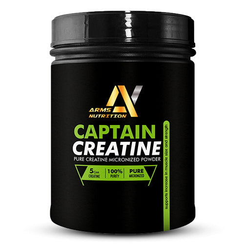 Arms Nutrition Captain Creatine l Muscle Strength & Size Gain