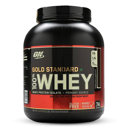 Optimum Nutrition (ON) Gold Standard 100% Whey Protein Powder | Premium