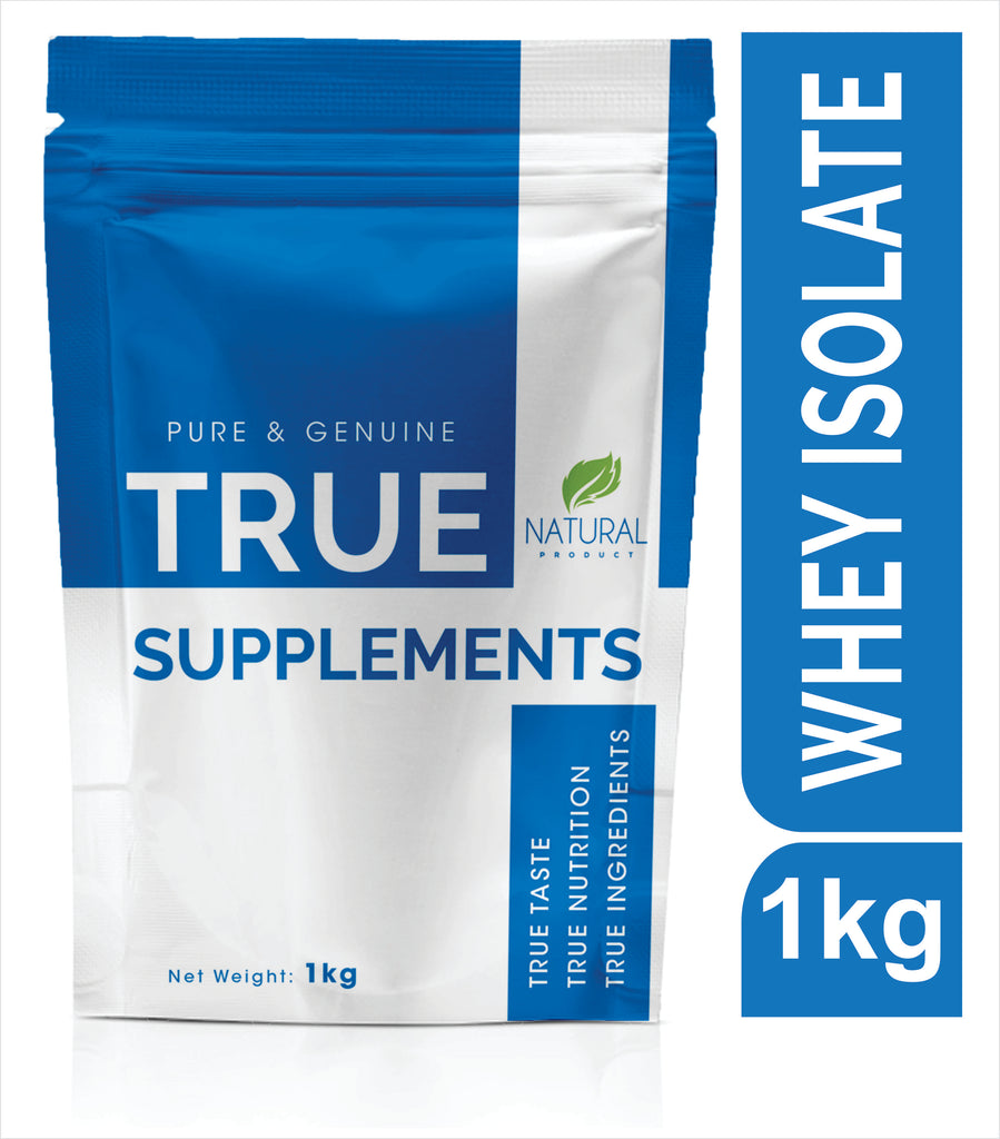 True Supplements Pure Whey Protein ISOLATE