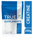 True Supplements Pure Micronised Creatine Monohydrate | 50 Servings | 250g