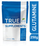 True Supplements Pure Glutamine for Muscle Recovery & Organ Health | 50 Servings | 250g