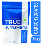 True Supplements Pure Carbohydrates Gainer for Mass Gain | 20 Servings | 1kg