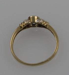9ct 2.0gm Yellow Gold Dress Ring