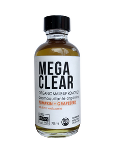 MEGA CLEAR organic make-up remover