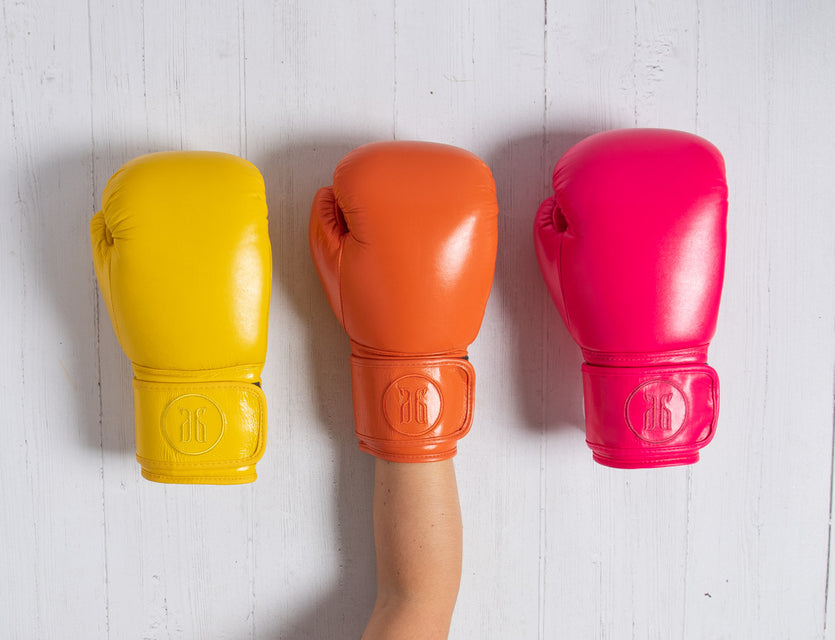 Neon Boxing Gloves
