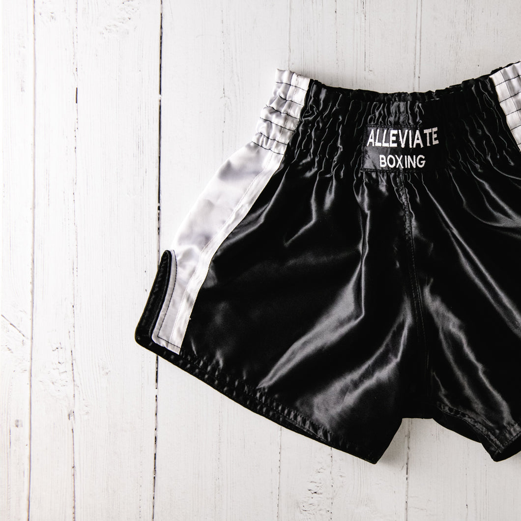 The Skye Shorts - Black & White