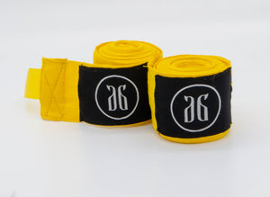 Yellow Boxing hand wraps