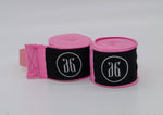 Load image into Gallery viewer, Pink boxing hand wraps