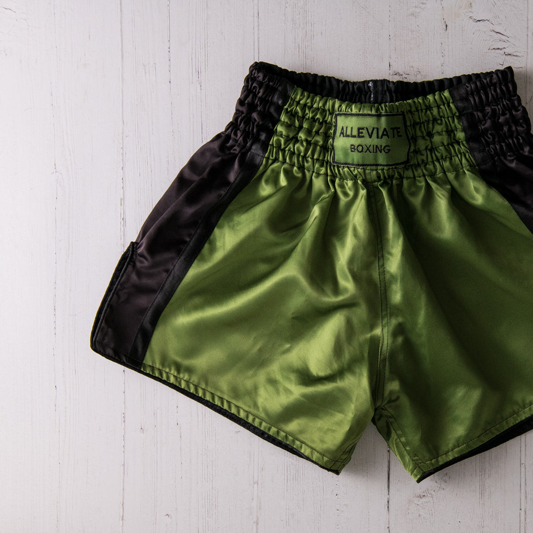 The Skye  Shorts - Khaki & Midnight Blue
