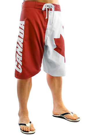 Canada flag men's boardshorts swimsuit MBXCA