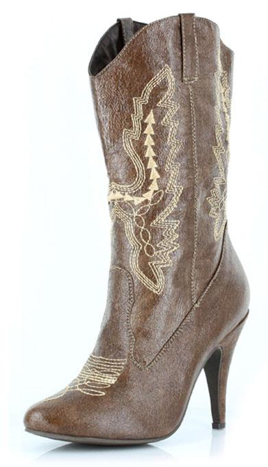 Women's Cowboy Boots with Stiletto 4 Inch Heel