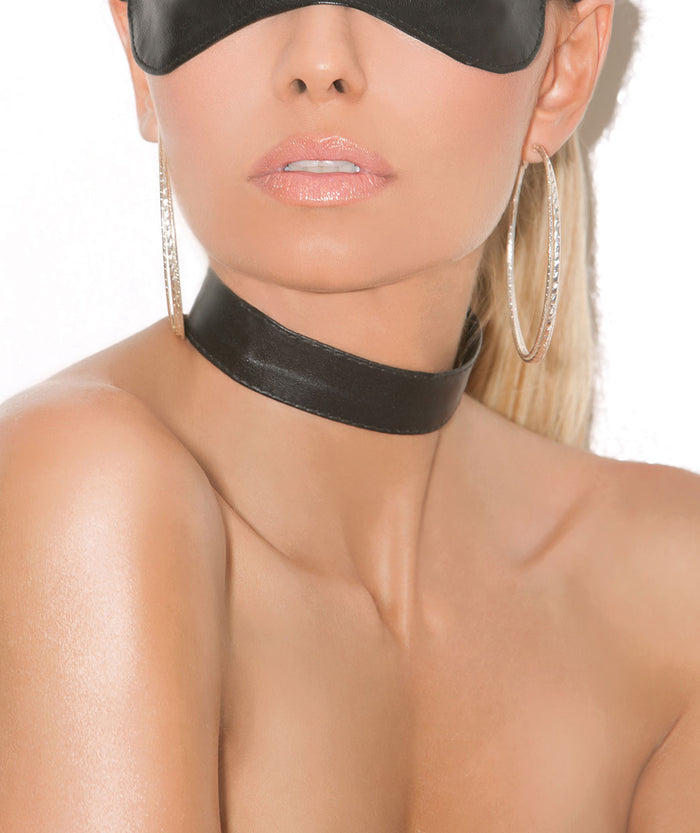 Classic Leather Choker