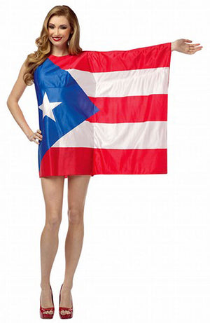 Puerto Rico Flag dress 1973