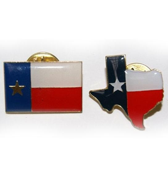 Texas Lapel / Hat Pin 2-pc. Set