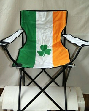 Irish flag folding chair 9000025