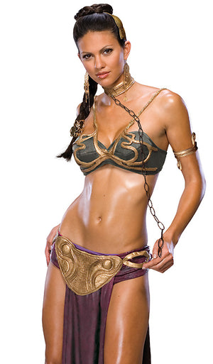 Star Wars Princess Leia 6-piece slave costume 888611