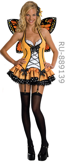 full view of fantasy butterfly 3-pc costume 889139