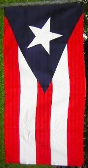 Puerto Rico flag beach towel 18174