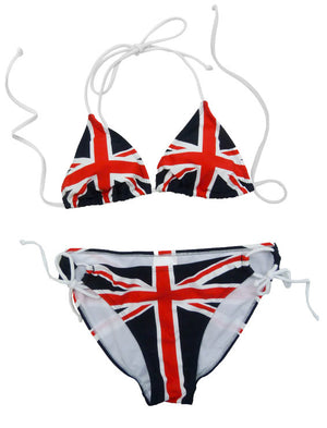 British Flag Bikini 2-pc Set