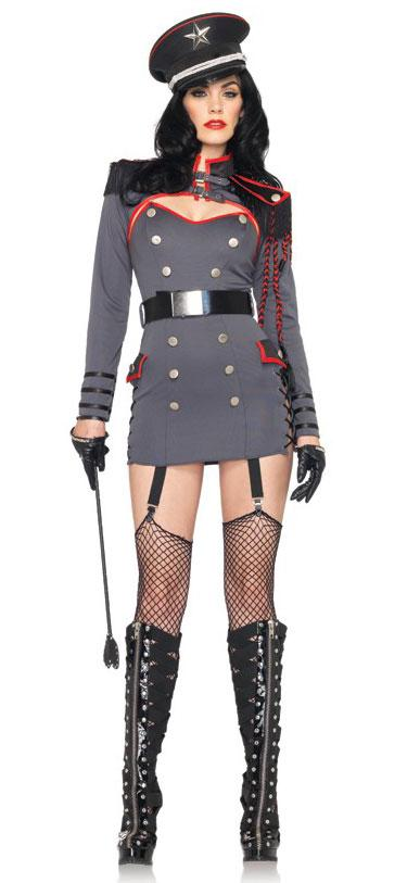 Sexy General Punishment Army Costume