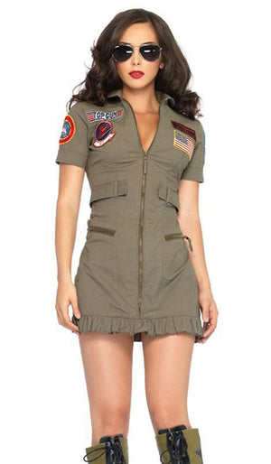 Top Gun flight costume dress TG83700