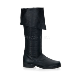 men's leather cuff boots with 1-inch heels Maverick-8812
