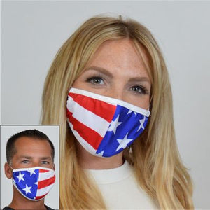 American Flag Stars and Stripes Face Mask M212