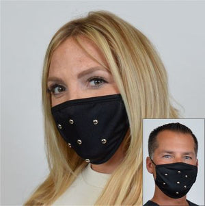 Studded Face Mask M214