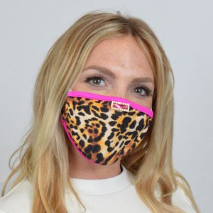 Leopard Face Mask M226