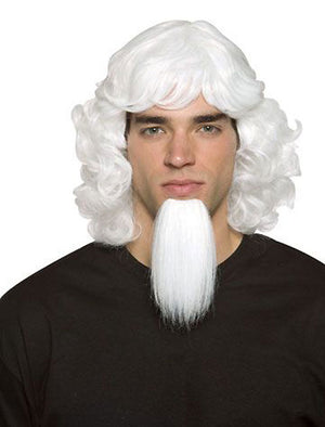 Patriotic Uncle Sam adult's costume wig and goatee 5423