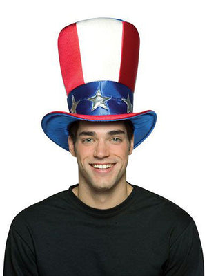 American Uncle SAM costume top hat 6013